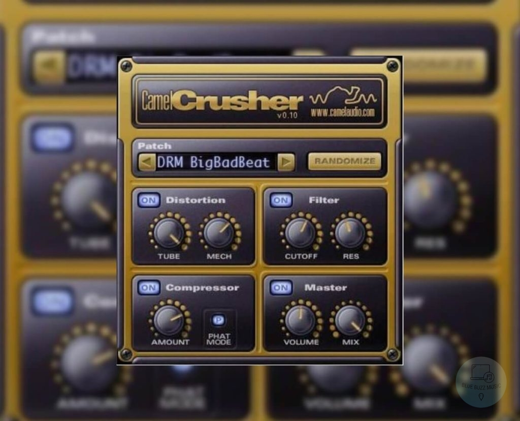 Camel Crusher - freeware edm vst mixing plugins