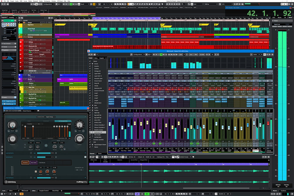 Cubase - what daw do most producers use for edm and techno music production and mixing