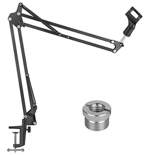 Eastshining Upgraded - best blue yeti tonor adjustable boom mic stand