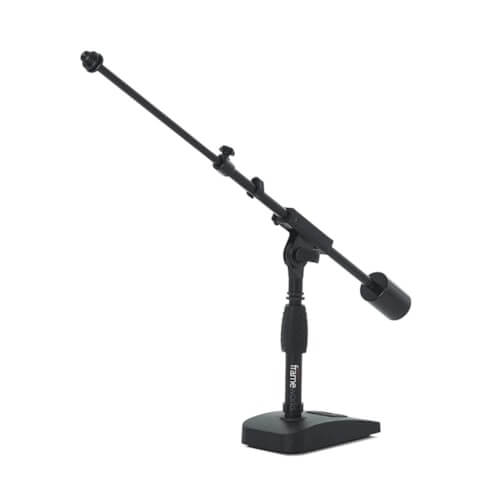 Gator Frameworks - small table floor stand for blue yeti mic
