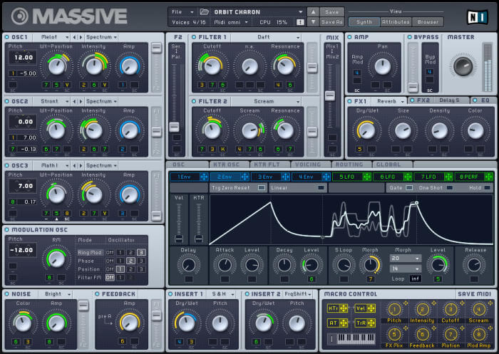 massive by ni - best vst plugin for electronic music production