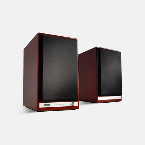 Audioengine HD6 - best passive powered speakers for old record players and turntables