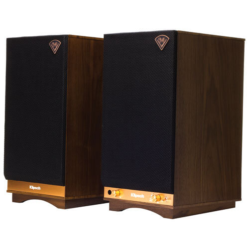 Klipsch The Sixes - best vintage powered speakers for vinyl turntables