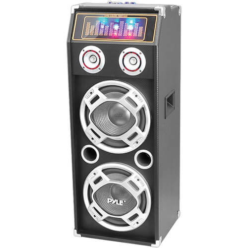 Pyle PSUFM1035A - best party speaker with bass and led lights