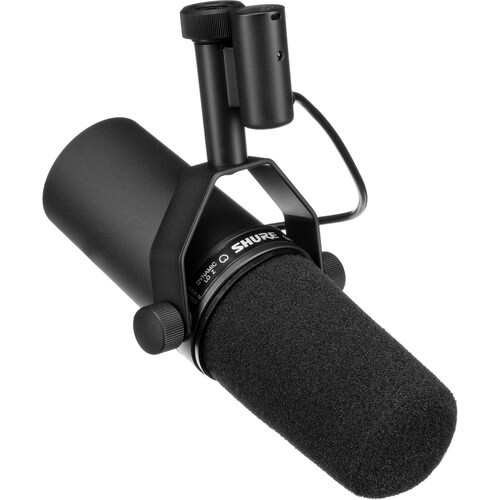 Shure SM7b - best cheap affordable condenser beatboxing microphone for recording