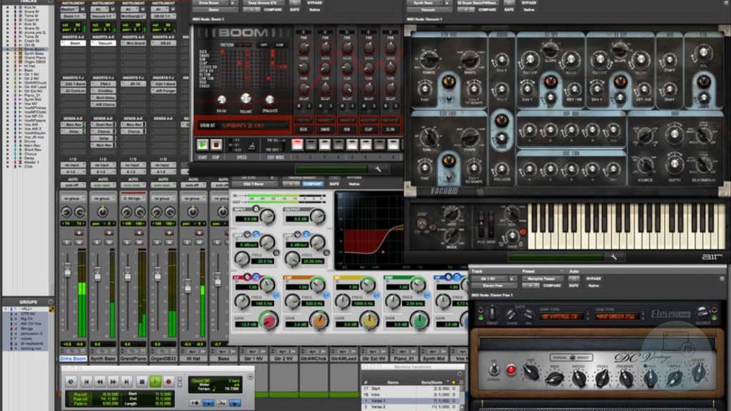 What vst plugins Does Frank Ocean Use to make his music