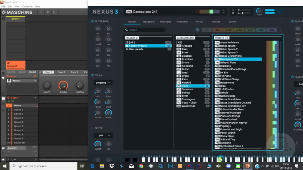 nexus expansion packs and presets free download