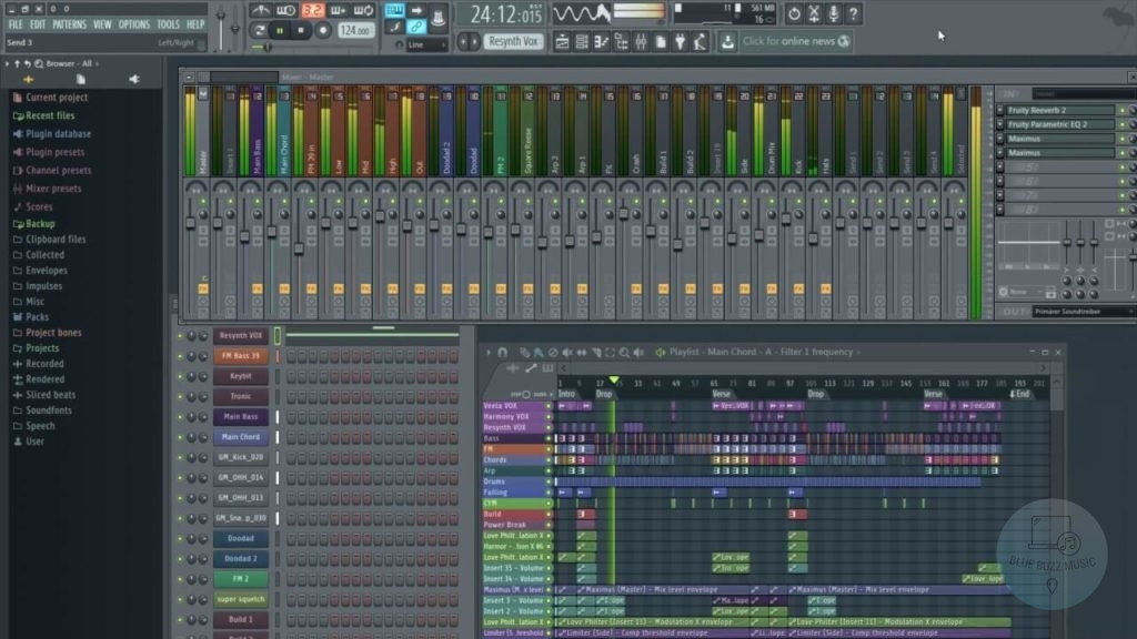 what daw does avicii use for his edm music and djing